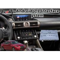 Buy cheap Android 7.1 Car Navigator for 2013-2016 Lexus Is 350 Mouse Control with WiFi from wholesalers