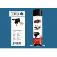 Quality Lsuzu Blue Animal Marking Paint AEROPAK Brand ROHS Certificated For Sheep for sale