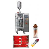 Quality High Speed Automted Vertical Liquid Packing Machine For Chocolatge Jam / Ketchup / Jelly candy for sale