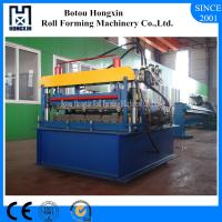 Quality Automatic Roofing Sheet Crimping Machine 0 - 10m / Min Working Speed for sale