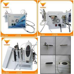 Buy cheap Portable Ultrasonic Oxygen Spray diamond dermabrasion Hydrafacial Skin Care Machine from wholesalers