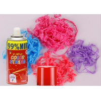Quality Glossy Color 4-5 Meters Anti Flammable Silly String Spray for sale