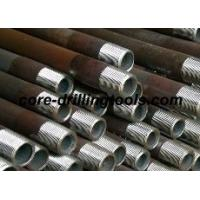 Quality Mining Wireline 8mm Drill Rod / Extension Drill Rods Tapered Threaded for sale