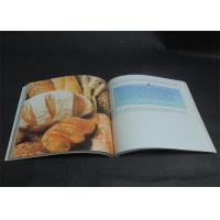 Quality Eco-friendly Bright coloured Cookbook Printing services , Recipe Book Printing for sale