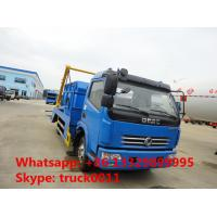 Quality Dongfeng 4x2 6cbm hydraulic arm roll garbage truck for sale for sale