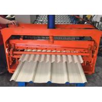Quality Color Coated Metal Sheet Rolling Machine , Smart Metal Roofing Roll Former  for sale