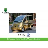 Quality FRP Body Curtis Controller Electric Sightseeing Car 48V AC Motor Zero Pollution for sale