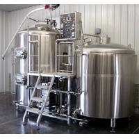 Quality Commercial beer brewing equipment , Commercial beer brewing equipment for sale