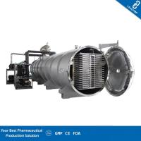 China Integral Structure Vacuum Freeze Dryer Fit Nutrition And Health Care Industry on sale