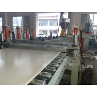 Quality Solid WPC PVC Foam Board Extrusion Line Flame Retardant Stable Output High Precision for sale
