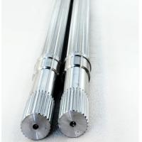 Quality HRC44 Hardness Involute Spline Shaft , Plastic Extruder Parts Stable Performance for sale