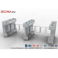 Quality Automatic Pedestrian Swing Gate RFID Card Reader Infrared Sensor Security Turnstile for sale