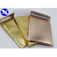 China Recyclable Colored Bubble Wrap Envelopes , Metallic Foil Bubble Bags 8*9 Inch on sale