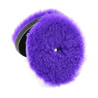 China Car Care Detailing Wool Polishing Pads North Wolf Car Detailing Wool Buffing Pad Purple Color 5 on sale
