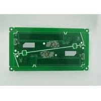 Quality Lead Free Double Sided PCB RoHS Green Solder Mask White Print for sale