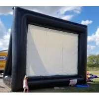 Quality Outdoor Theater Screen Inflatable Cinema Screen Portable Projection Screen for sale