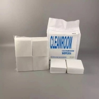 Quality SGS Rosh Cleanroom Microfiber Cloth Cleaning Wiper for sale