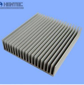 Quality Silkscreened Aluminum Heatsink Extrusion Profiles Round / Square / Triangle for sale