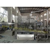 Quality 3000bph Monoblock Water Bottling Plant , Mineral Water Filling Machine for sale