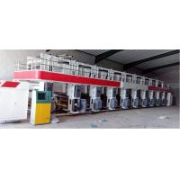 Quality ASY-A 8 color 1000mm high speed 200m/m gravure printing machine 7 motors Horizontal-vertical color register double side for sale