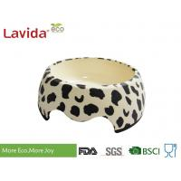 Buy cheap Decal Printing Reusable Melamine Dog Bowl Modern Design Anti - Bacteria Diverse Styles from wholesalers