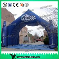 Quality Beer Or Coke Cola Small Bottle Shaped Outdoor Advertising Inflatable for promotional for sale