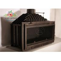 Quality Modern Cast Iron Fireplace Surround / Freestanding Fireplace Insert for sale