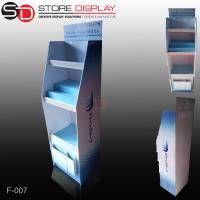 Quality PDQ floor display shelf with shelves for promotion for sale