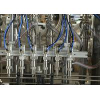 Automatic Water / Milk / Juice Liquid Filling Equipment with 6 Nozzles , High Precision