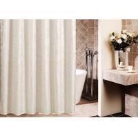 Quality Printed Thickening Waterproof Shower Curtain , Plated Style Modern Shower Curtains for sale