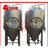 Quality Industrial Conical Stainless Steel Fermenter Tank 2MM - 5MM Thickness for sale