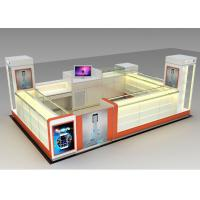 Quality Modern Style Mobile Cell Phone Accessories Kiosk With Fully - Enclosed Structure for sale