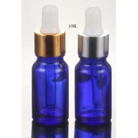 Quality 10ml plastic cosmetic oil  dropper bottle for sale