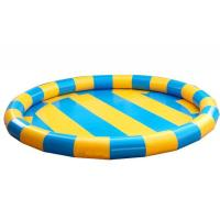 Quality Round Shape Indoor Inflatable Garden Swimming Pools With Logo Printing for sale