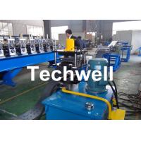 Quality High Efficient Storage Shelf Rack Roll Forming Machine With Material Thickness 2.0-2.5mm for sale