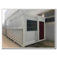 Quality 20 Feet Foldable Steel Frame Container Room House Building Easy Installation with Structural Insulated Panels for sale