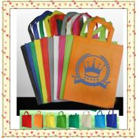 Quality nonwoven shopping bag, customized shopping bag; for sale