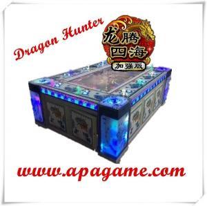 Quality 8P dragon hunter plus original IGS game software fishing simulator vending gambling game machine for sale
