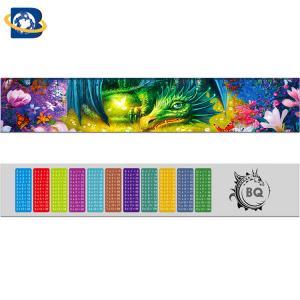 Quality Fantastic 3D Lenticular Printing Ruler 0.9mm PET+157g Paper Material for sale