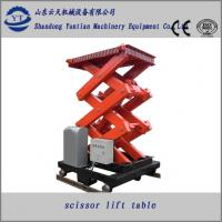 Buy cheap Electric Stationary scissor hydraulic lift platform from wholesalers