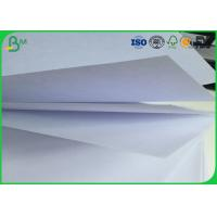 Quality 100% Wood Pulp Uncoated Freesheet Paper , 53g - 80g Woodfree Offset Paper for sale