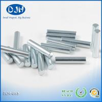 Quality Cylinder Super Strong Rare Earth Magnets Plating Nickel / Zinc NdFeB Magnets for sale