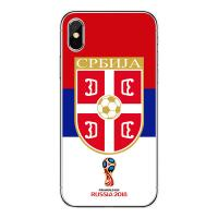 China 2018 World Cup Smartphone Case Printing TPU Mobile Phone Case For iPhone X Custom Cell Phone Cover on sale