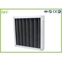 Quality Active Carbon Replacement Air Filter 800 - 3200 M³/H Rated Air Flow Panel Odor Remover for sale
