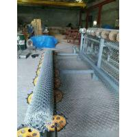 Quality 2m-4m width double wire feeding Fully Automatic Chain Link Fence  Machine for fence for sale