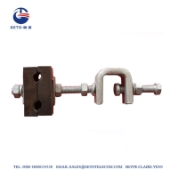 Buy cheap ADSS / OPGW Fitting Down Lead Clamp For Tower from wholesalers