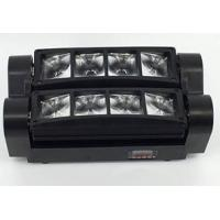 Quality 8 Eyes 3W RGBW Spider Beam Moving Head Light Strobe Speeds Variable Speed for sale