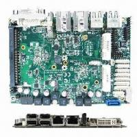 Quality Intel Embedded Compact Extended Form Factor with Dual Core Intel Atom Processor D2550 for sale