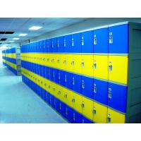 Quality Red School Lockers With Keyless Lock , Factory price plastic employee ABS lockers for sale