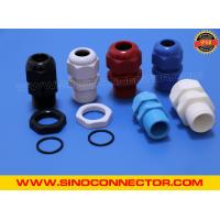 China Non-metallic Plastic (Nylon) Cable Glands IP68 with Locking Nut & O-ring on sale